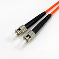 MM ST-ST fiber optic patch cord