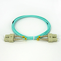 SC-SC OM4 DX Patch Cord