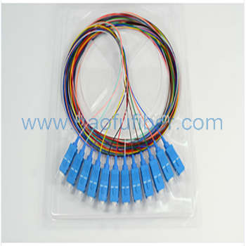 12-pack sm sc optical fiber pigtail