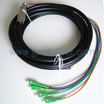 Waterproof fiber pigtail