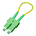 SC/APC Connector Single mode Fiber Loopback Cable