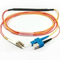 SM to MM SC-LC mode conditioning patch cord