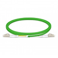 OM5 Duplex Fiber Optic Patch Cable