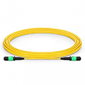 MPO Female 12 Fibers Type A LSZH OS2 9/125 Single Mode Trunk Cable