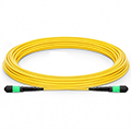 MTP Male 12 Fibers Type A LSZH OS2 Elite Trunk Cable