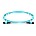 MPO Female 12 Fibers Type B LSZH OM3 50/125 Multimode Trunk Cable